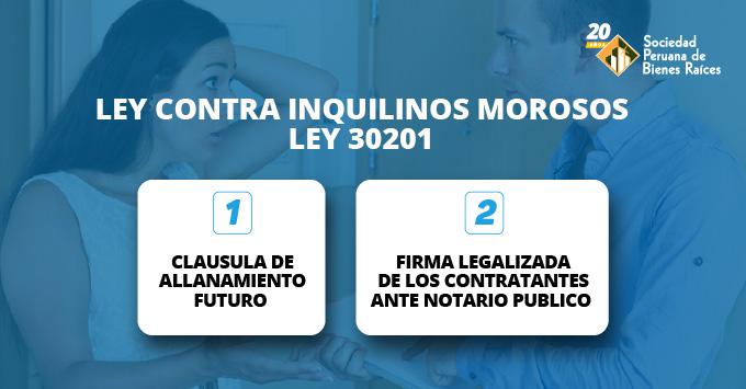 LEY-CONTRA-INQUILINOS-MOROSOS-LEY-30201