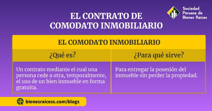 COMODATO-INMOBILIARIO
