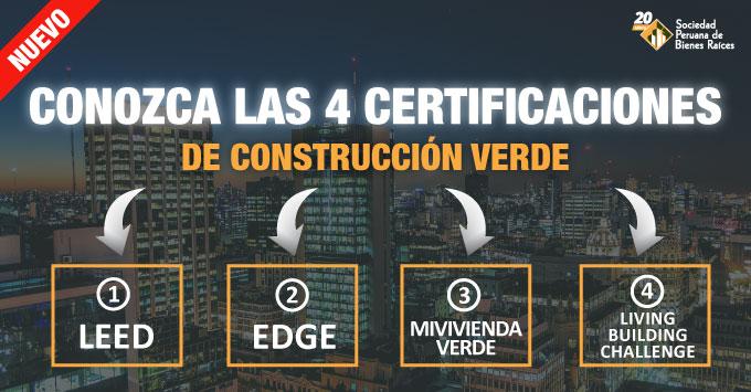 Certificaciones de construccion verde