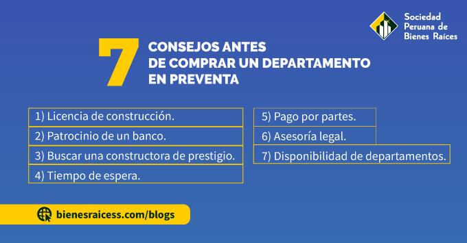 7 CONSEJOS ANTES DE COMPRAR UN DEPARTAMENTO EN PREVENTA