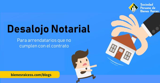 desalojo notarial