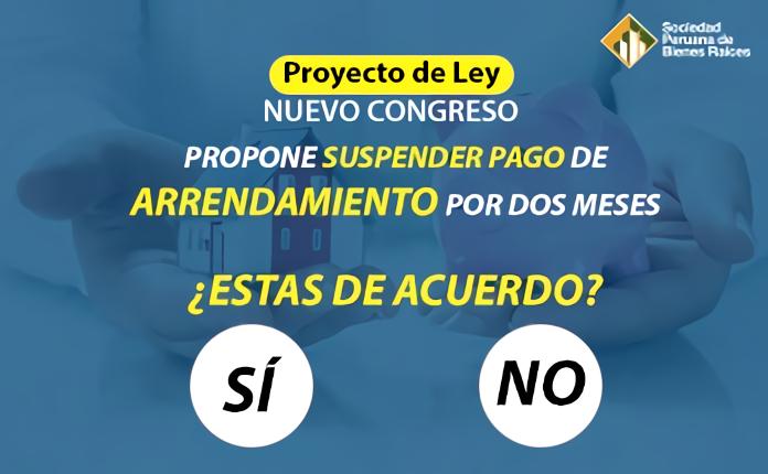 SUSPENDER PAGOS DE ARRENDAMIENTO