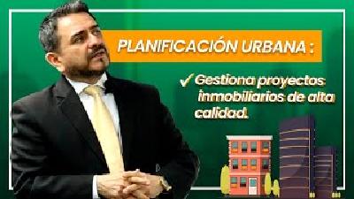 PLANIFICACIÓN URBANA: Gestiona proyectos inmobiliarios de alta calidad.