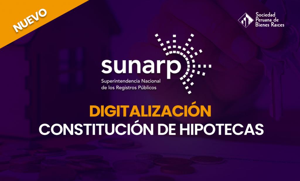 CONSTITUCIÓN DE HIPOTECAS