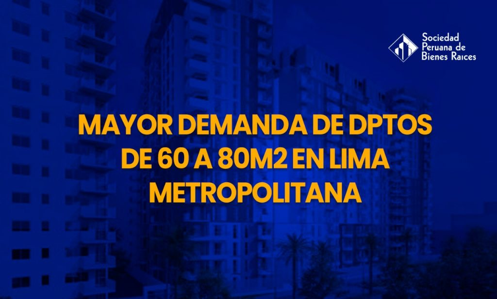 DEMANDA DE DPTOS DE 60 A 80M2